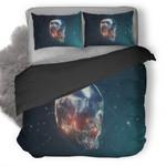 Iron Skull Duvet Cover Bedding Set