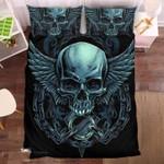 Mechanic Skull Duvet Cover Bedding Set