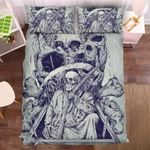 Reaper Skull 1 Duvet Cover Bedding Set