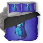 Rip Skull Illustration Duvet Cover Bedding Set