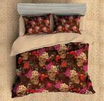 Skull 3 Duvet Cover Bedding Set
