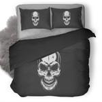 Skull Creepy Dark Duvet Cover Bedding Set