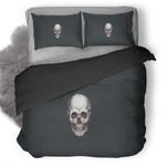 Skull Scary Duvet Cover Bedding Set