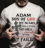 Adam Son Of God Scars Tell Story They Are Reminder Of Time When Life Tried To Break Me But Failled