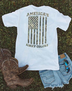America S Away Colors Camouflage American Flag T Shirt Hoodie Sweater