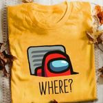 Among Us Where Is Imposter T Shirt Hoodie Sweater