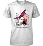 Atlanta Braves Snoopy And Charlie Brown Fan