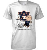 Auburn Tigers Snoopy And Charlie Brown Fan