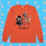 Bear And Deer Live Laugh Love T Shirt Hoodie Sweatshirt Sweater