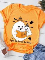 Boo Bees I Put The Boo In The Books Halloween T Shirt