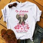 Breast Cancer Prevention In October We Wear Pink Elephant T Shirt Hoodie Sweater