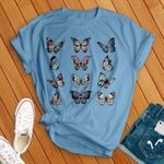 Butterflies Types For Lovers T Shirt Hoodie Sweater
