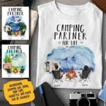 Camping Partner For Life T Shirt Hoodie Sweater