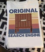 Card Catalogue Original Search Engine T Shirt Hoodie Sweater
