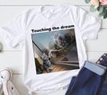 Cat Reflection Tiger Touching The Dream Motivational T Shirt Hoodie Sweater