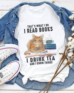 Cat That S What I Do Read Books Drink Tea And Know Things