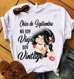 Chica De Septiembre No Soy Vieja Soy Vintage