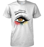 Chicago Blackhawks Glitter Parttern Eye Printed T Shirt Hoodie Sweater
