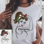 Chicagona Girl Mexican Flag For Lovers T Shirt Hoodie Sweater