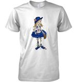 Chicago Cubs Tiny Girl Baseball Catcher T Shirt Hoodie Sweater
