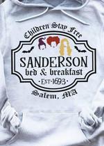 Children Stay Free Sanderon Bed Breakfast T Shirt Hoodie Sweater