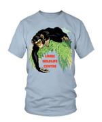 Chimpanzee Limbe Wildlife Center Tshirt