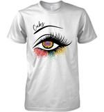 Chicago Cubs Glitter Parttern Eye Printed T Shirt Hoodie Sweater