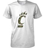 Cincinnati Bearcats Camo Layer T Shirt Hoodie Sweater