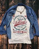 Classic Edition Authentic Vintage Legend Since 1970 Exclusive Original Quality T Shirt