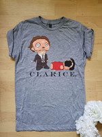 Clarice Dwight Schrute The Office Cartoon For Fan T Shirt Hoodie Sweater