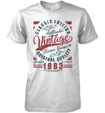 Classic Edition Authentic Vintage Original Quality Legend Since 1983 Exclusive T Shirt Hoodie Sweater