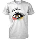 Colorado Rockies Glitter Parttern Eye Printed T Shirt Hoodie Sweater