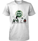 Colorado State Rams Snoopy And Friends Peanut Fan T Shirt Hoodie Sweater