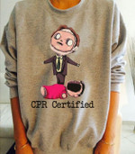 Cpr Certified Birthday Gift Tshirt Hoodie Sweater