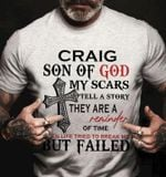 Craig Son Of God Scars Tell Story They Are Reminder Of Time When Life Tried To Break Me But Failed