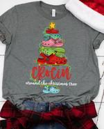 Crocin Christmas Tree Around The Christmas Tree Xmas Birthday Gift Tshirt Hoodie Sweater