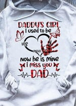 Daddy S Girl I Used To Be His Angel Now He Is Mine Hoodie