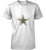 Dallas Cowboys Camo Layer T Shirt Hoodie Sweater