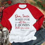 Dear Santa Sorry For The Gift Everything Was Crazy Xmas Claus Birthday Gift Sweater