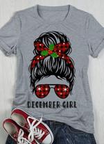 December Girl Tshirt For Christmas Tshirt Hoodie Sweater