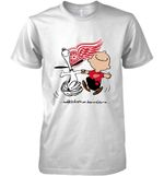 Detroit Red Wings Snoopy And Charlie Brown Fan