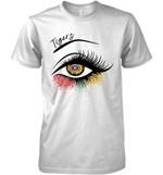 Detroit Tigers Glitter Parttern Eye Printed T Shirt Hoodie Sweater