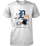 Detroit Tigers Snoopy And Charlie Brown Fan