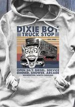 Dixie Boy Truck Stop T Shirt Hoodie Sweater