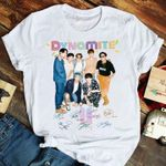 Dynamite Bts New Song Signed For Bangtan Fan T Shirt Hoodie Sweater