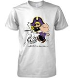 East Carolina Pirates Snoopy And Charlie Brown Fan