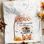 Fall French Bulldogs It S The Most Wonderful Time Of The Year Peace Car For Lovers T Shirt Hoodie Sweater
