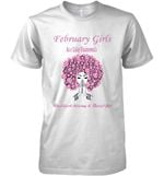 February Girls Are Like Diamonds Resilient Strong And Beautiful T Shirt Hoodie Sweater