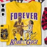 Forever Kobe And Gigi Legend Kobe Bryant Signed For Fan T Shirt Hoodie Sweater