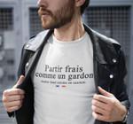 France Flag Partir Frais Comme Un Gardon T Shirt Hoodie Sweater